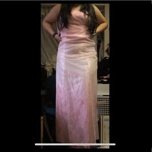 Jump Dresses - OMBRE PINK HOMECOMING / PROM SPARKLEY DRESS